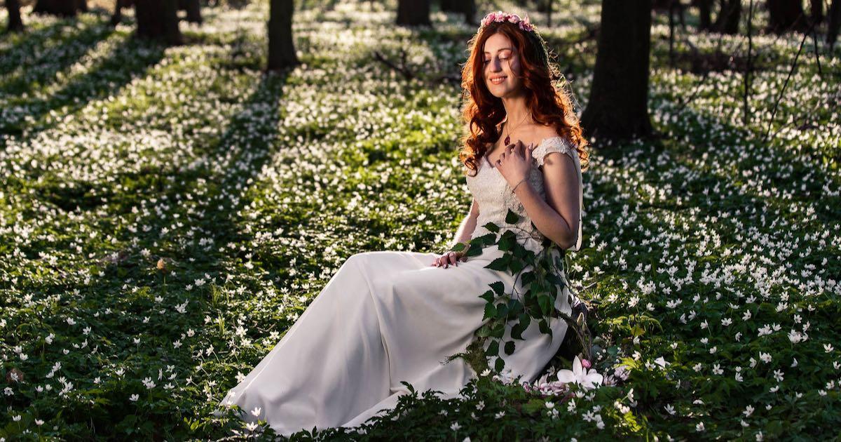 Pani Wiosna i jej wiosenna sesja zdjęciowa