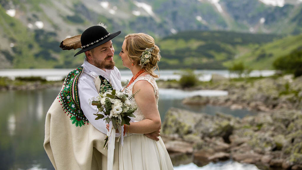 Plenerowa sesja ślubna w Tatrach